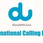 DU International Calling Rates