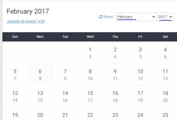 change the Date of Birth to Hijri calendar