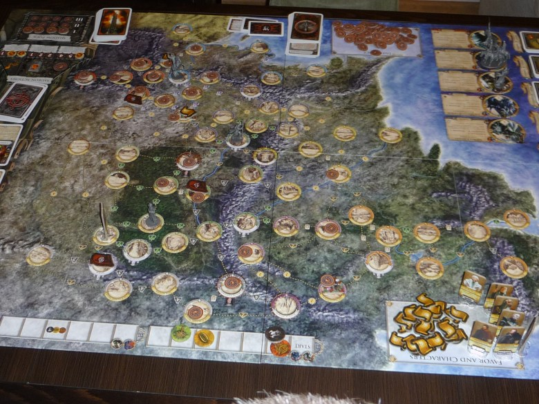 Mapa Middle-Earth Quest