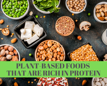 Plant-Based foods rich in protein