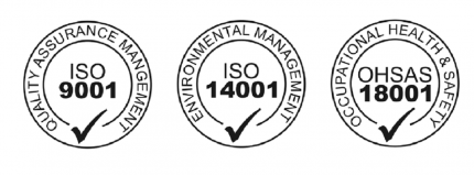 Plant and Safety Limited ISO 9001: 2015, ISO 14001: 2015, and OHSAS 18001:2007 Accreditation