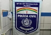 Foto: Marca da Polícia Civil/ DP Pombos