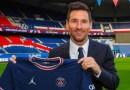 Estou no lugar certo para continuar ganhando', diz Messi, em apresentação no PSG