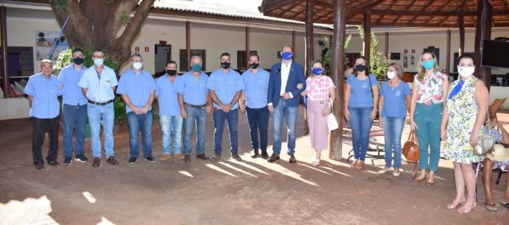 Rotary e parceiros doam máquina de fazer fraudas e mini padaria ao Lar do Idoso de Maracaju