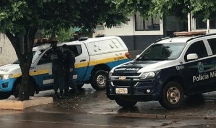 Polícia Militar de Maracaju prende indivíduo por portar droga.