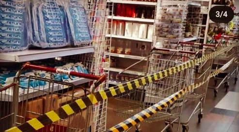Totalitarismo sanitário: Governador do Rio Grande do Sul restringe vendas em supermercados