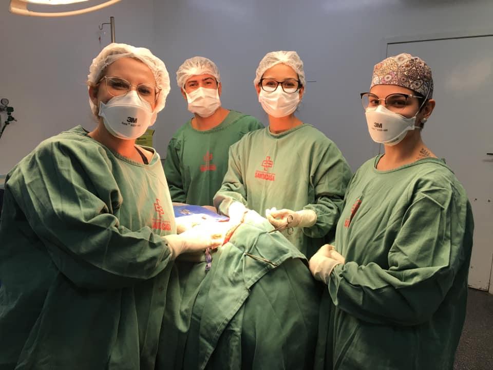Médicas inauguram Serviço de Cirurgia de Cabeça e Pescoço na Santa Casa e pedem apoio para adquirir aparelho de nasofibrolaringoscopia