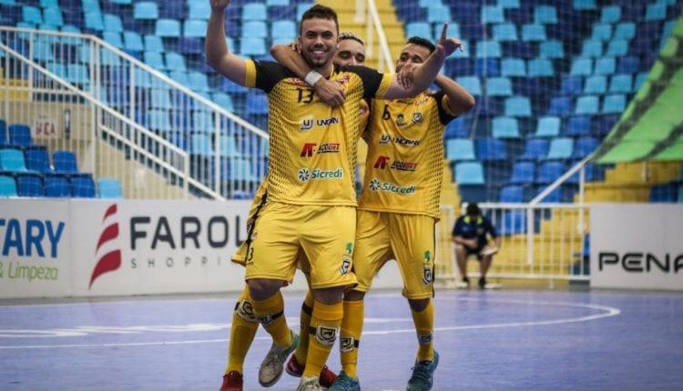 Time douradense vai enfrentar multicampeões na 1ª fase da Liga Nacional de Futsal