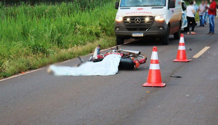 Motociclista morre na BR-376 após cair embaixo de carreta durante ultrapassagem