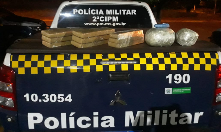 Tentando levar droga para o Acre, jovem é presa em Maracaju pela PM