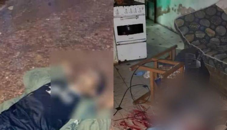 Dupla foi executada com pelo menos quatro tiros na fronteira por trio em Uno
