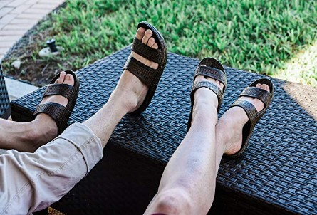 10 mens best arch support sandals | cute sandals for plantar fasciitis