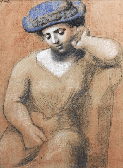 Pablo Picasso – Portrait drawing class in Kunsthaus