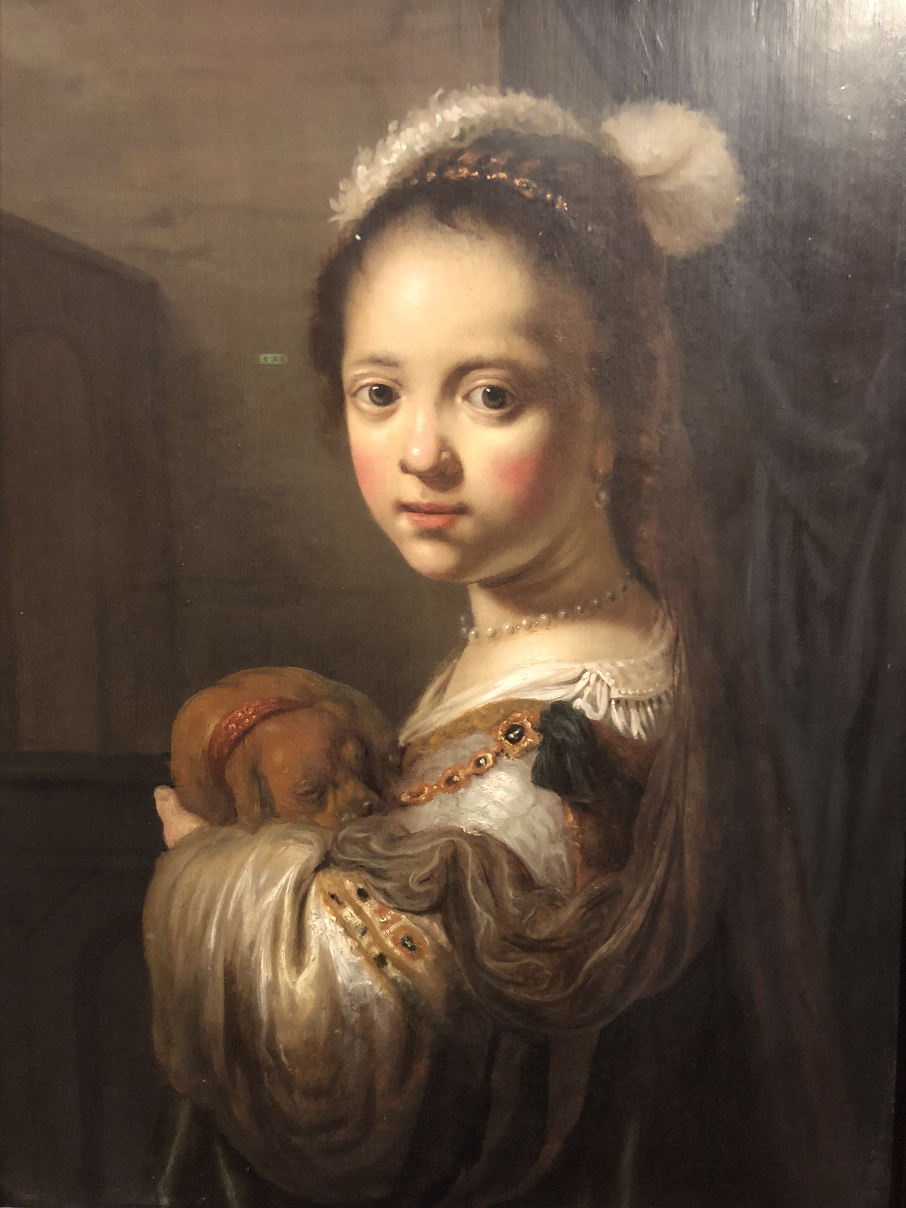 Govert Flinck – Child portrait drawing class in Kunsthaus