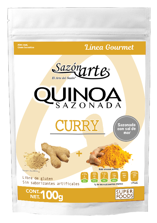 Quinoas SF curry 100g