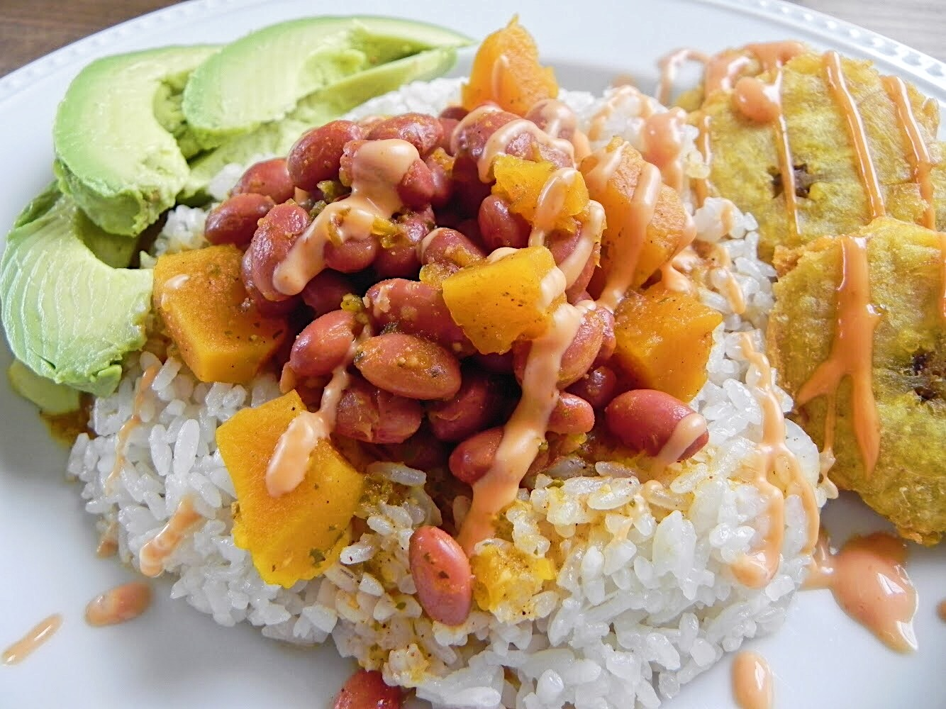 Arroz y Habichuelas Guisadas/Rice and Puerto Rican Stewed Beans