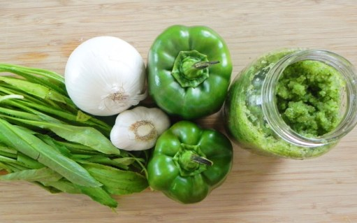Ingredients and Sofrito