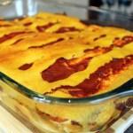 Vegan Bean and Cheese Enchiladas