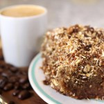 Gluten and Refined Sugar Free Coffee Cake