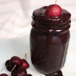 Chocolate Cherry Nicecream