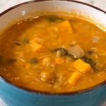 Instant Pot Vegan                       Thai Peanut Soup
