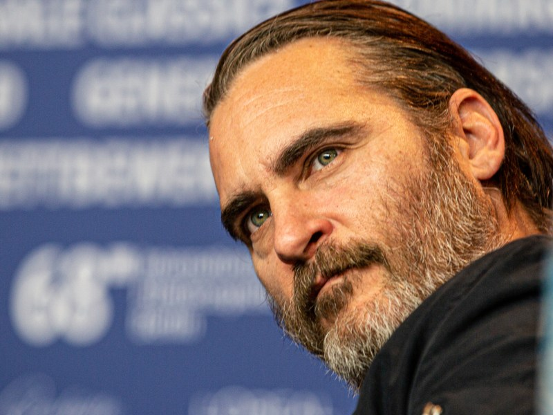 Joaquin phoenix has written a foreword for Hidden