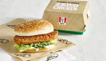 KFC Vegan Burger launched during Veganuary