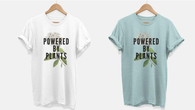 How easy is it to spread the plant-based lifestyle with these cute t-shirts?