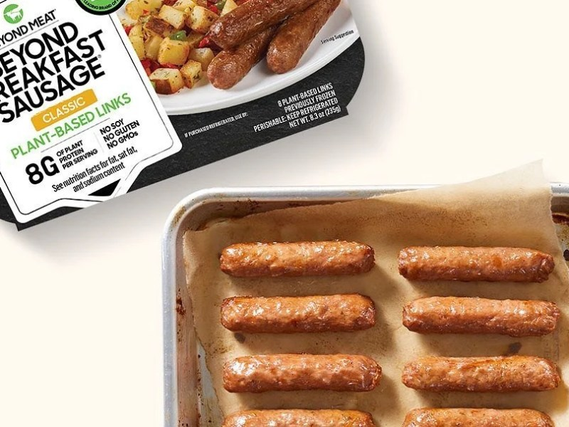 Beyond Meat unveils plant-based pork products in China