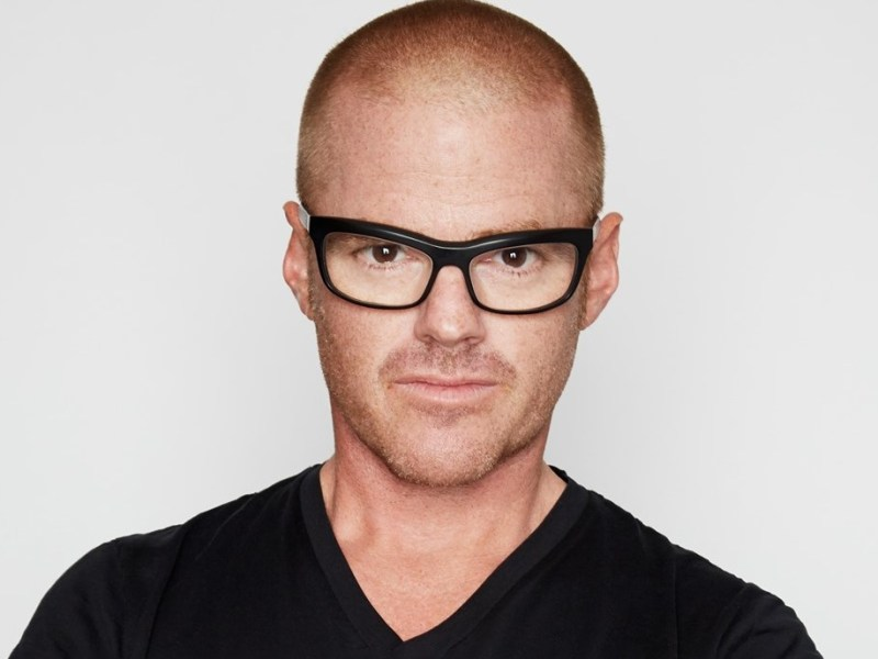 Celebrity chef Heston Blumenthal