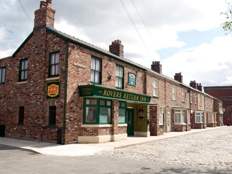 The set of Coronation Street