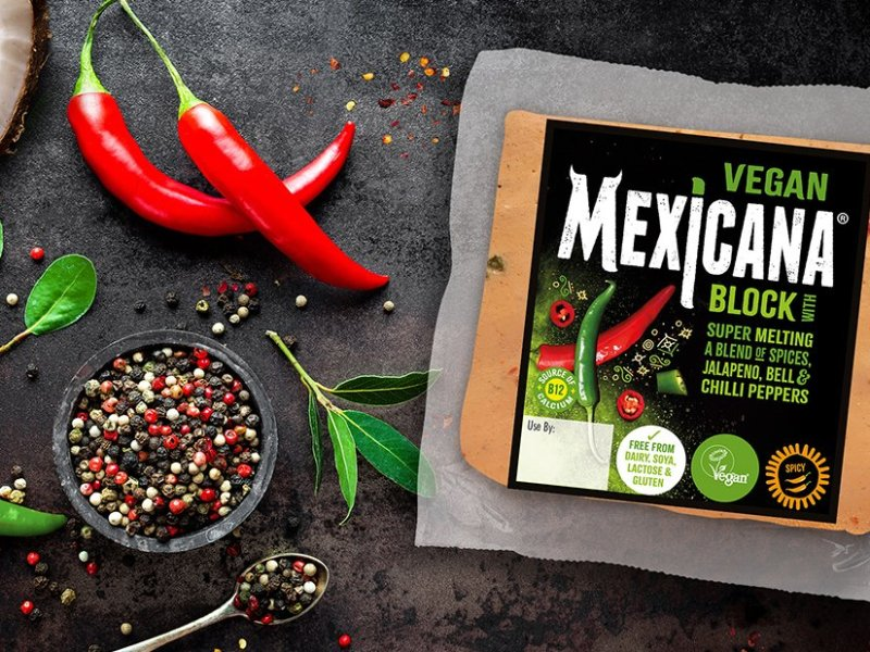 Vegan mexicana cheese