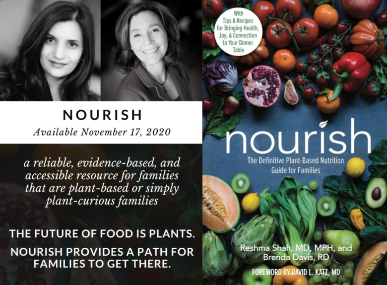 Nourish cook book cover