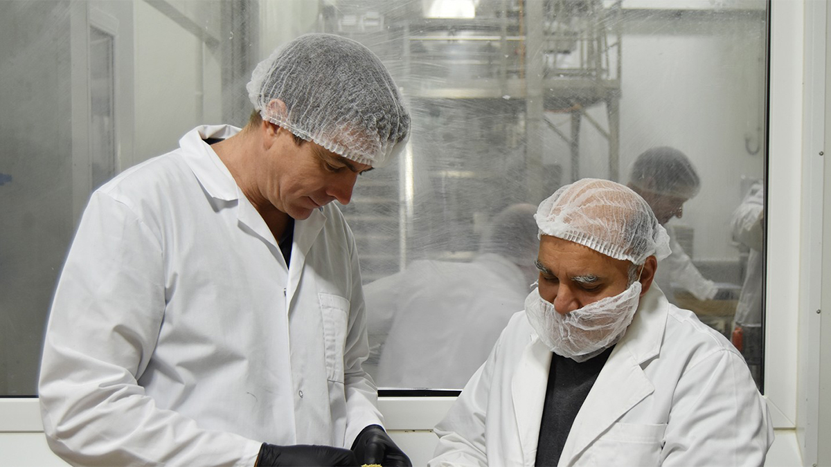 ProForm Food's plant-based meat facility