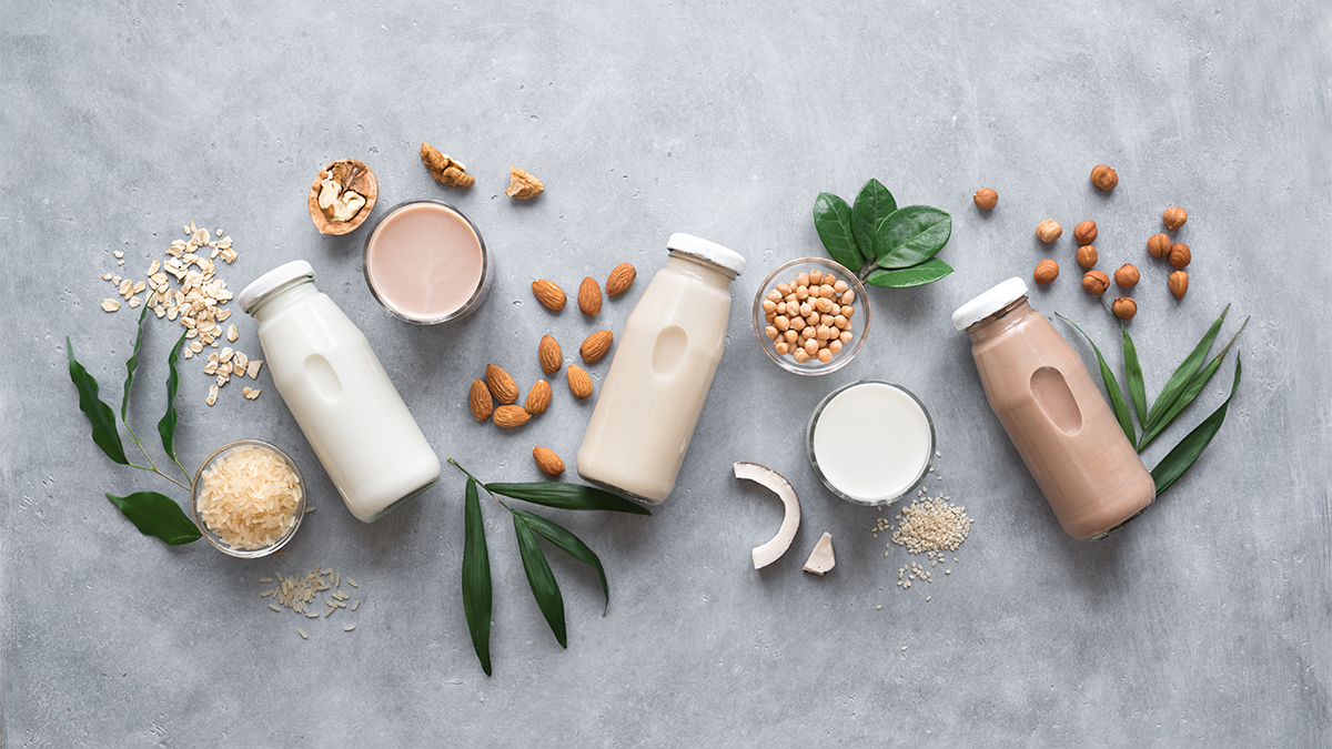 what plant-based milk is healthiest?
