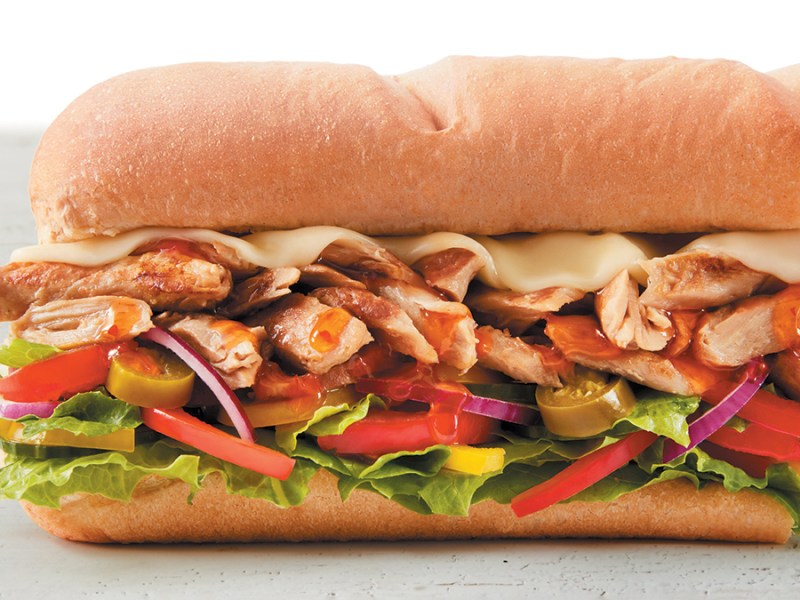 Subway's vegan chicken sub