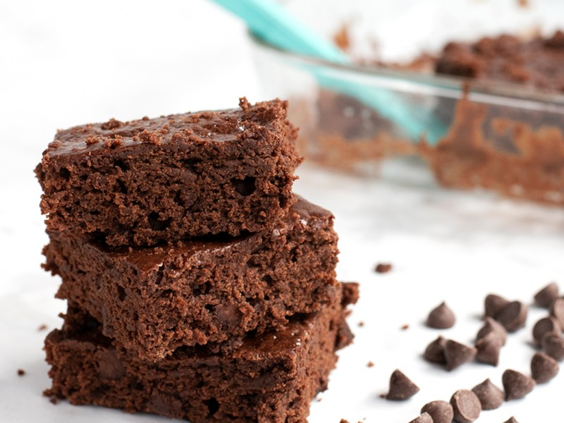 double chocolate brownies herbivores kitchen