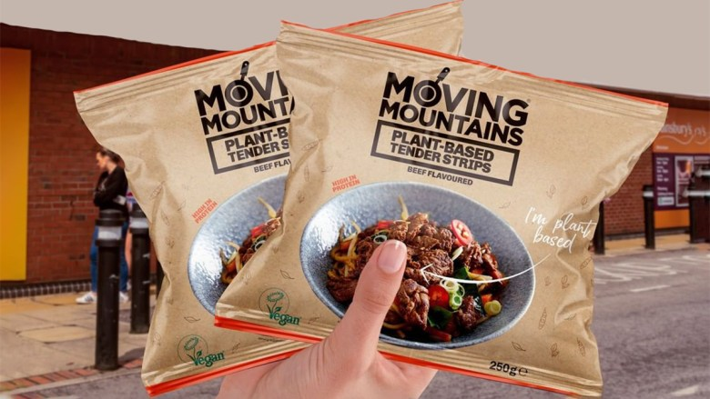 Moving Mountains launches vegan beef strips