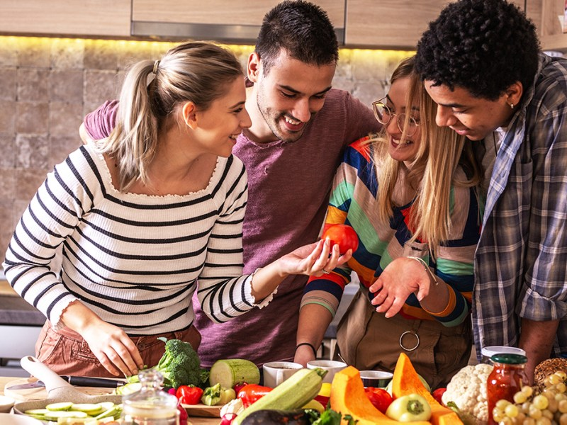 young adults willing to change their diet to help the planet