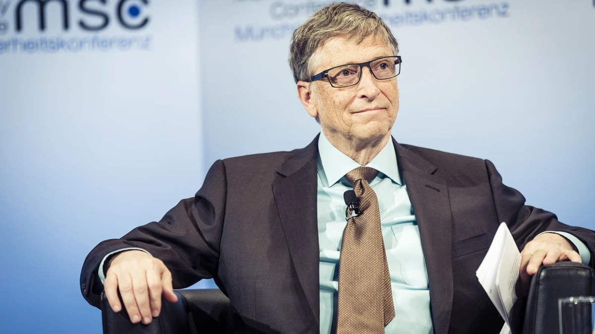 Bill Gates, who says rich countries should move to plant-based beef