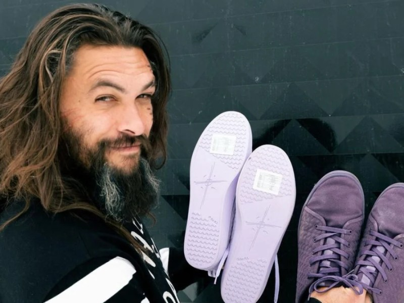 Jason Momoa launched limited edition vegan shoes with So iLL, made from algae and biodegradable materials