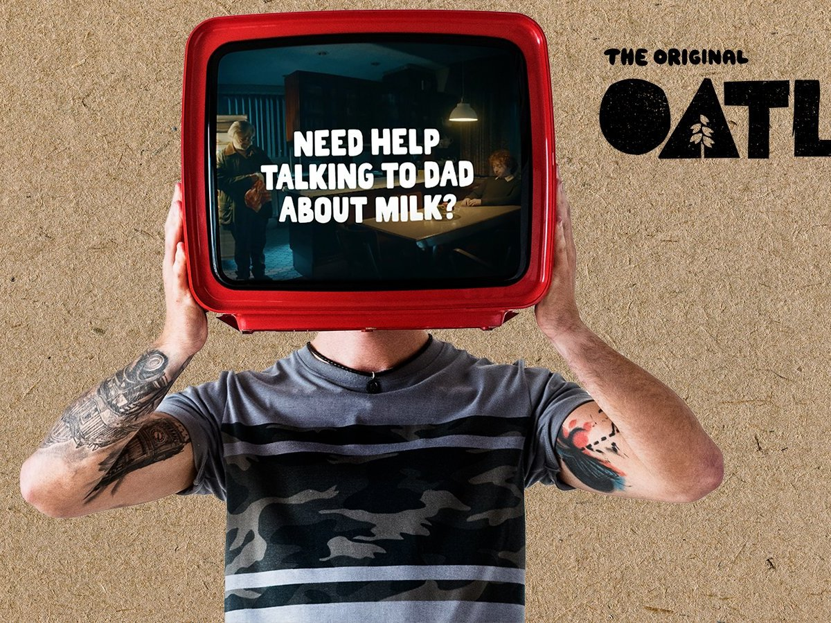 Oatly Is killing The Competition With Its TV Campaigns On Men And Milk