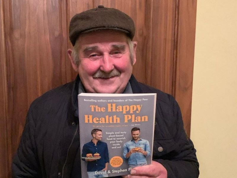 Padraig Howley, the Irish father turned Instagram sensation is trying out veganism with the help of The Happy Pear and his Riverdance star daughter