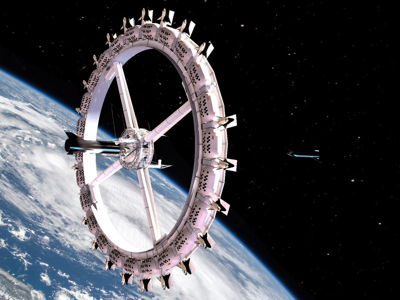 World's First-Ever Space Hotel Urged To Go Vegan