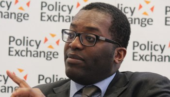Senior UK politician Kwasi Kwarteng credited the vegan boom in helping the UK to meet 'ambitious' climate change targets
