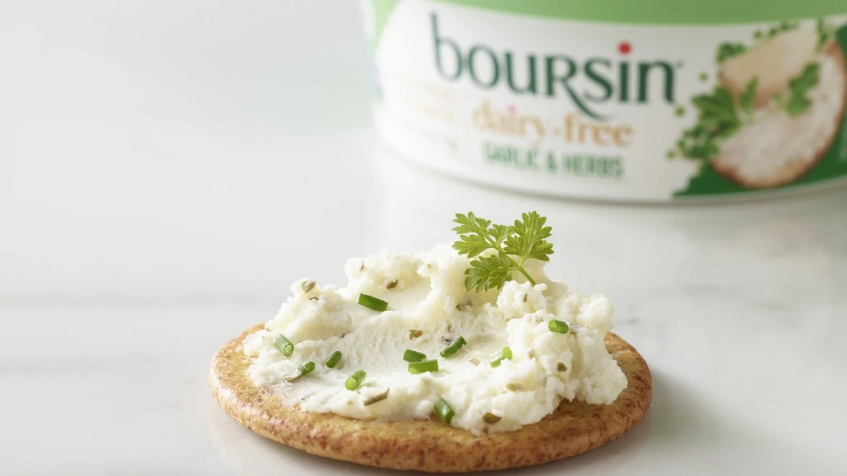 Dairy Giant Boursin Launches New Vegan Cheese Spread Amid Plant-Based 'Boom'