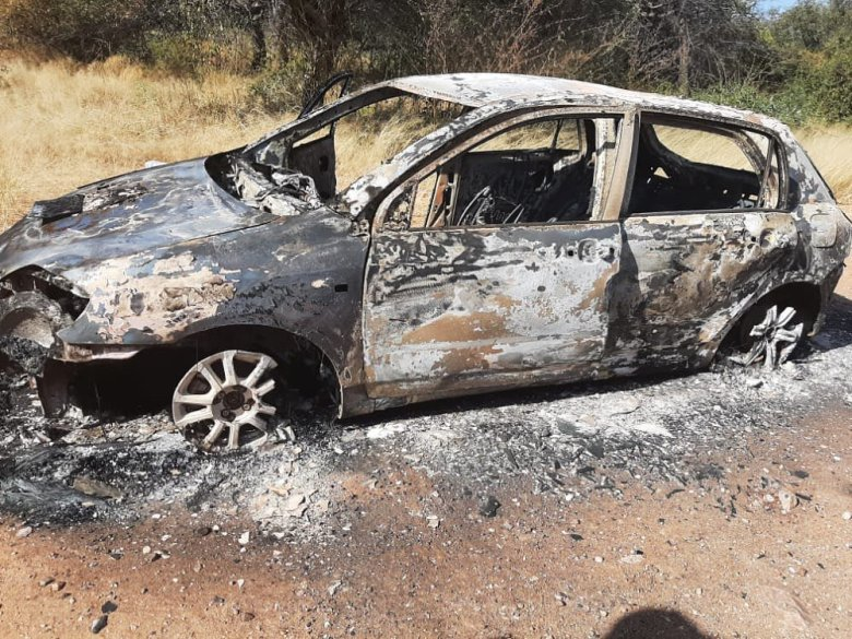 Tango's car was set on fire by poachers. This was an attempted assassination of one of the IAPF's most awarded animal protectors