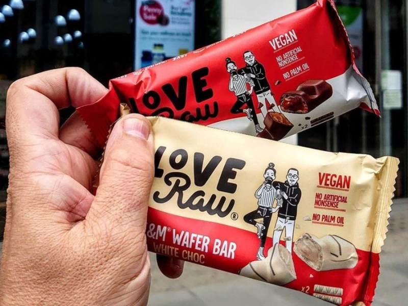 Leading vegan chocolate brand, LoveRaw spoke out about its struggles to success in a recent interview