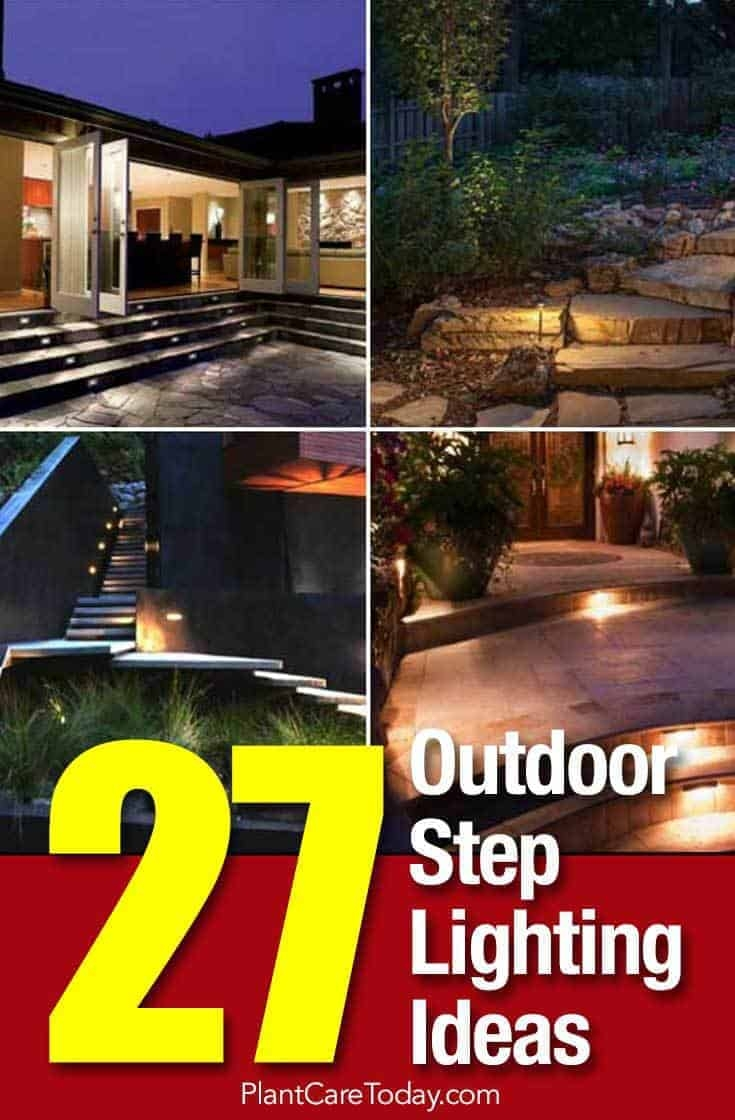 27 Outdoor Step Lighting Ideas That Will Amaze You   Best Stone For Outdoor Steps   Concrete Steps   Garden   Stair Tread   Limestone   Natural Stone