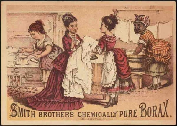 Borax ad from Smith Brothers from Boston Library